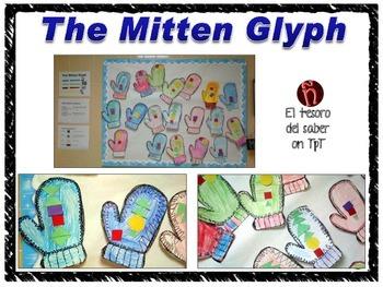 The Mitten Glyph - DUAL Language Friendly Geometry Activity