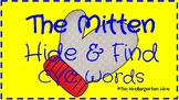The Mitten Hide & Find CVC Words