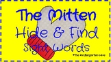 The Mitten Hide & Find Sight Words