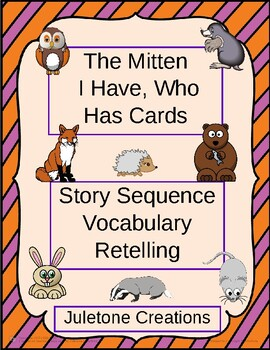 The Mitten I Have, Who Has Cards