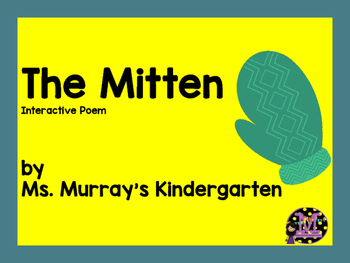 The Mitten Inspired Interactive Poem