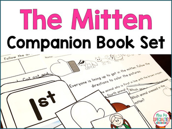 The Mitten Literacy Activities {Special Education and Autism Resource}