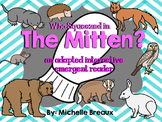 The Mitten Interactive Emergent Reader Sequencing & Retelling Special Education