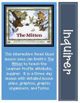 The Mitten Interactive Read Aloud Lessons
