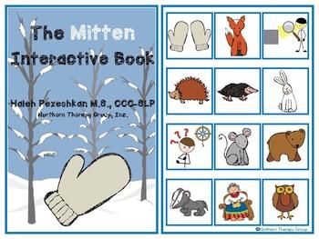 The Mitten Interactive Vocabulary Book