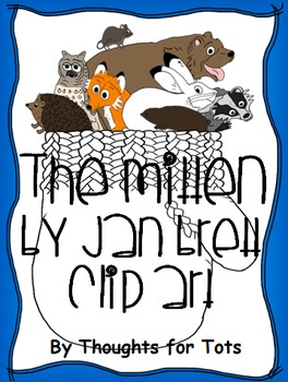 The Mitten - Jan Brett, Clip Art