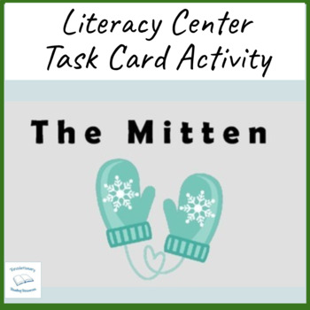 The Mitten Jan Brett Task Literacy Cards Literature Circle