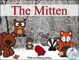 The Mitten {Kindergarten Math & Literacy Centers}