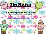 """The Mitten"" Kindergarten Math Unit"