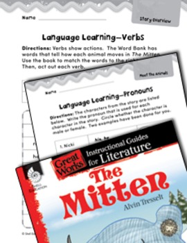 The Mitten Language Learning Activities