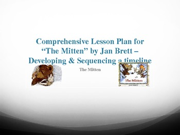 The Mitten Lesson Plan with PowerPoint