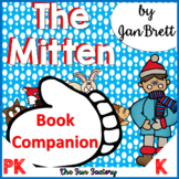 The Mitten by Jan Brett Book Companion {PK/K}