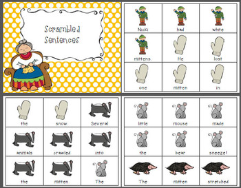 The Mitten {Literacy Activities}