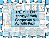 """The Mitten"" Literacy & Math Companion / Activity Pack Jan Brett Winter"