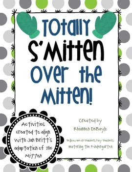 "The Mitten Literacy Packet (Based on Jan Brett's adaptation of ""The Mitten"")"
