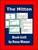 The Mitten by Jan Brett Activities