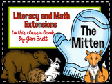 The Mitten Literacy and Math Extensions