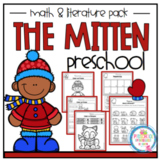 "The Mitten Math and Literature Pack ""No Prep"""