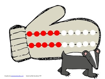 The Mitten-Math in Motion Activity-Making Sets 11-20