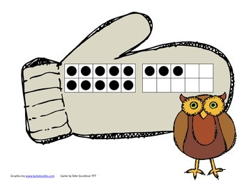 The Mitten-Math in Motion-Using Tens frames for Numbers 11-20
