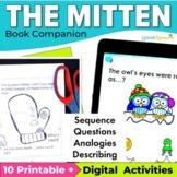 The Mitten Book Speech Therapy Book Companion & Reader