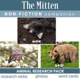 The Mitten Non-Fiction Activities