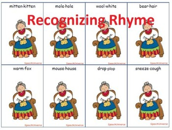 The Mitten: Phonological Awareness Companion Pack