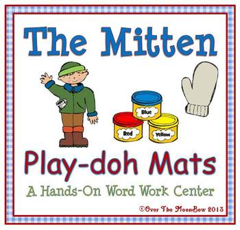 The Mitten Playdoh Activity Pack