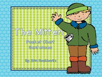 The Mitten Pocket Chart Center