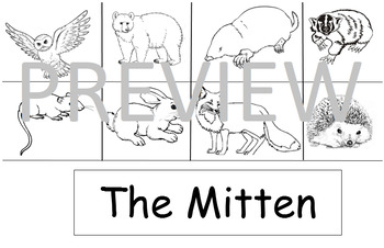 The Mitten Retelling Book