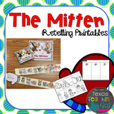 The Mitten Retelling Printables (Book Activity)