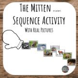 The Mitten Sequence Activity // PreK, Kindergarten, 1st grade