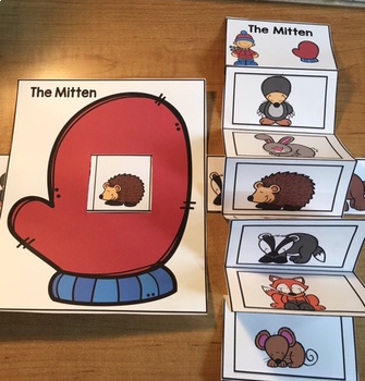 The Mitten Sequencing Crafts