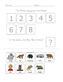 The Mitten-Sequencing Worksheet