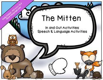 The Mitten Speech & Language Activities