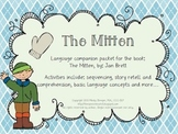 The Mitten – Speech and Language Activities (Winter Book C