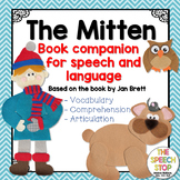 #Jan2019SLPMustHave The Mitten - Speech and Language Book Companion