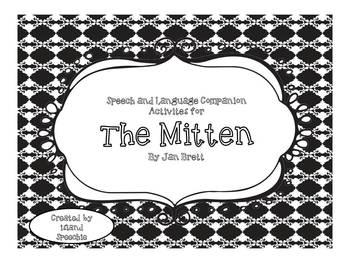 The Mitten: Speech and Language Companion Activities