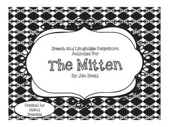 The Mitten: Speech and Language Companion Activities
