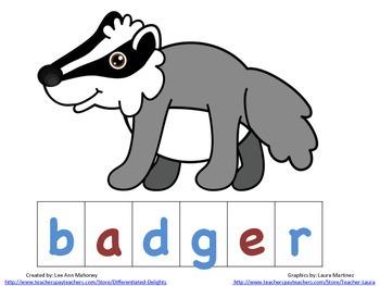 The Mitten Spelling