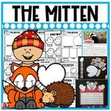 The Mitten by Jan Brett Story Activities (16 Literacy and Math Activities)