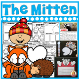 The Mitten by Jan Brett Story Activities (16 Literacy and