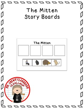 The Mitten Story Boards