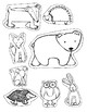 The Mitten - Story Telling Mitten and Story Elements Activity
