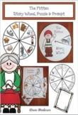 The Mitten Story Wheel, Puzzle & Prompt. Fun Winter Activities