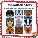 The Mitten Story Woodland Animals Hundred Chart Mystery Pictures
