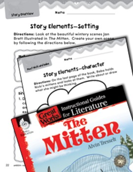 The Mitten Studying the Story Elements