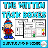 The Mitten Task Boxes
