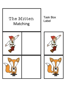 The Mitten Task Cards