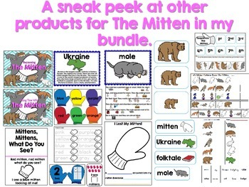 The Mitten Tens Frame Freebie